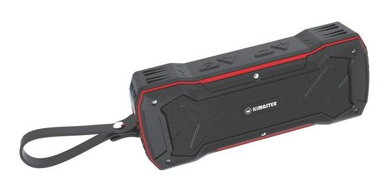 Caixa De Som Bluetooth Resistenta A Agua K335 Vermelha