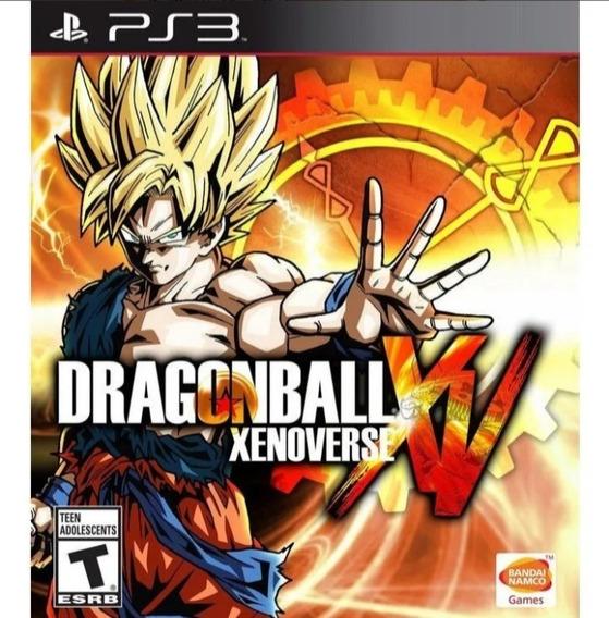 Jogo Ps3 Dragon Ball Xenoverse Psn Play 3 Legendas Br