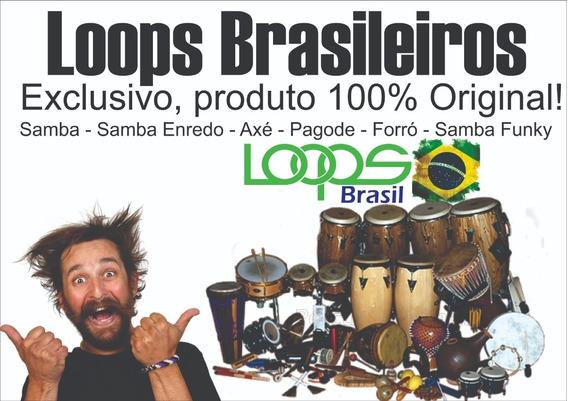 Pacote De Loops Brasileiros 100% Originais. Somos Criadores