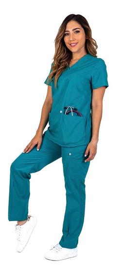 Uniforme Medico Quirúrgico, Conjunto. Con Gorro Dama