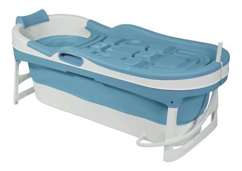 Imagen 1 de 10 de Bañera Plegable Adultos C/ Tapa Felcraft Para Bebe Niños