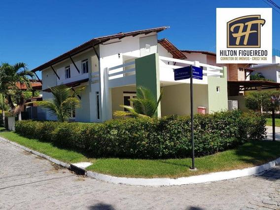 Casa Com 4 Dormitórios À Venda, 340 M² Por R$ 1.200.000 - Altiplano - João Pessoa/pb - Ca0794