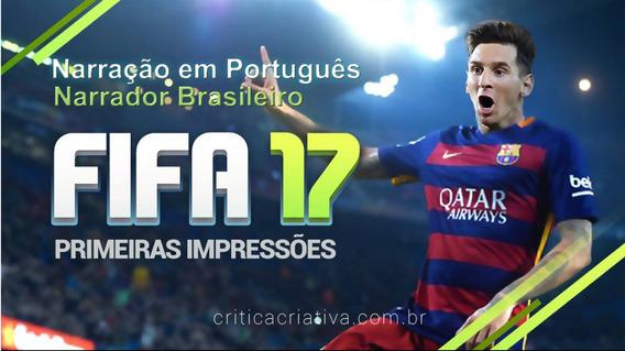 Fifa 17 Completo Jog Online Ps3 Código Psn Dublado Português