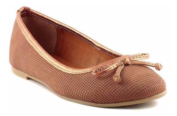 Chatita Mujer Cuero Briganti Zapato Base De Goma - Mccha2966
