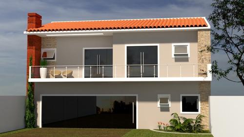 Imagem 1 de 5 de Planta De Casa 2 Quartos - Projeto Arquitetônico Completo