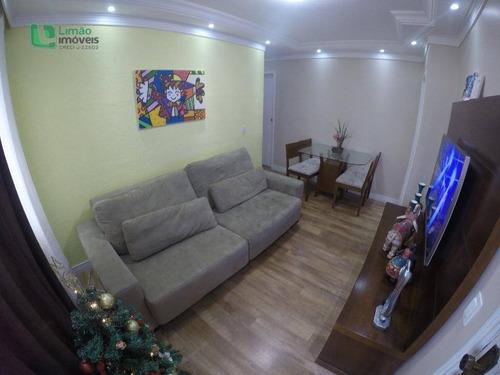 Apartamento Com 2 Dormitórios À Venda, 54 M² Por R$ 300.000,00 - Limão - São Paulo/sp - Ap0591