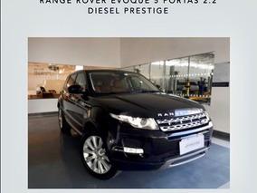Evoque Prestige 2015 - Diesel - Garantia Land Rover