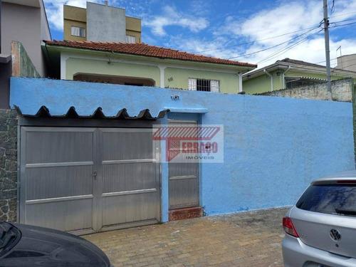 Casa Com 2 Dormitórios À Venda, 136 M² Por R$ 420.000 - Vila Cecília Maria - Santo André/sp - Ca0961