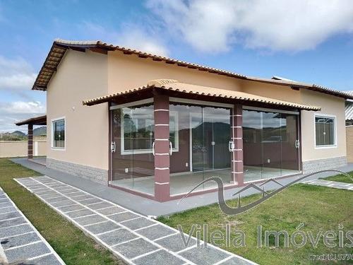 Imagem 1 de 15 de Casa Térrea Em Portal Das Mansões  -  Miguel Pereira - 893