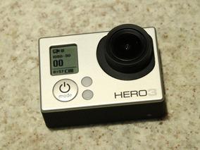 Gopro Hero 3 White + Microsd 64 Gb + Acessórios + Carregador