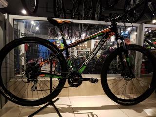 Bicicleta Diamond Back R29 S Negro Verde - Thuway