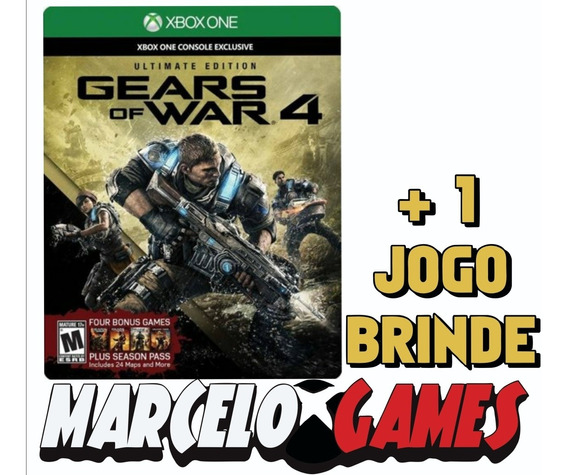 Gears Of War 4 Ultimate Edition Xbox One Midia Digital