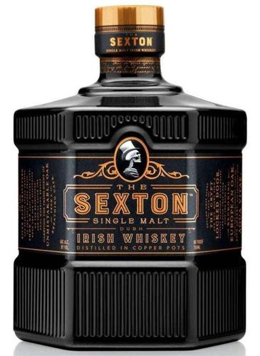 Imagen 1 de 9 de Whisky The Sexton 1 Litro Single Malt Irish