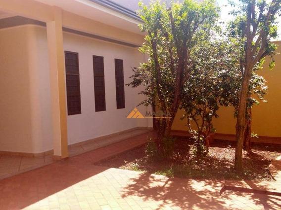 Casa Com 4 Dormitórios Para Alugar, 171 M² Por R$ 2.700,00/mês - Jardim Califórnia - Ribeirão Preto/sp - Ca2336