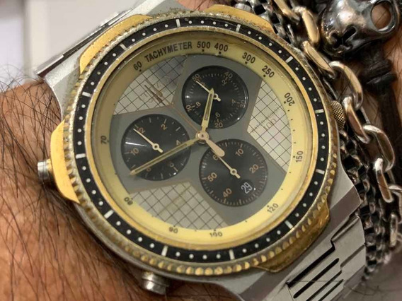 Citizen Calibre 3510 Wr Chronograph Quartz Raro Vintage