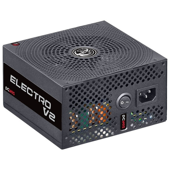 Fonte Atx 750w Real Electro V2 Series 80 Plus Bronze - Elecv