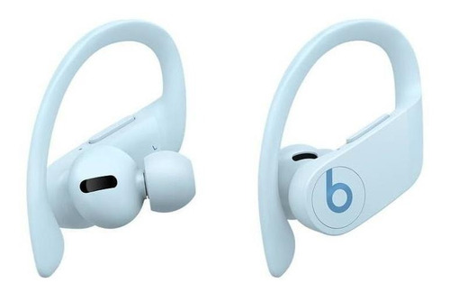 Fone de ouvido In-ear sem fio Beats Powerbeats Pro glacier blue   Mercado  Livre