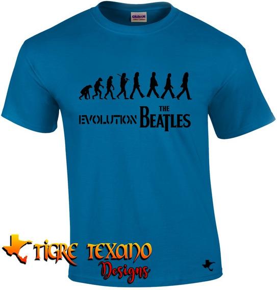 Playera Bandas The Beatles Mod. 11 By Tigre Texano Designs