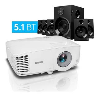 Proyector Benq Mx550 3600 Lm + Parlantes Logitech Z607 5.1
