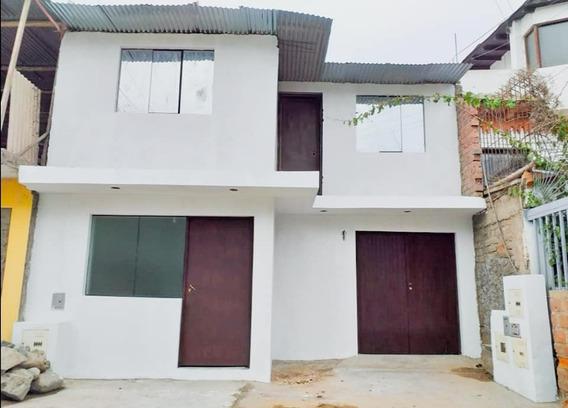 Remato Casa - Semiconstruida - Área 140m2- Villa El Salvador