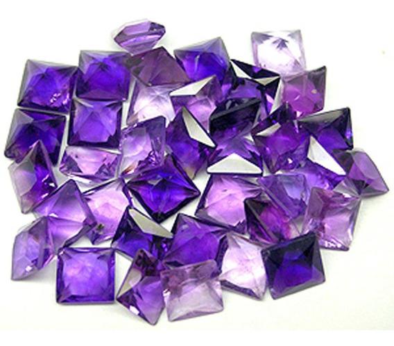 10 Ametistas Púrpuras Naturais!