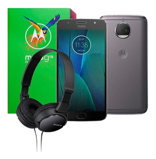 Celular Motorola Moto G5s Plus 32gb Ram 3gb 13mp + Diadema