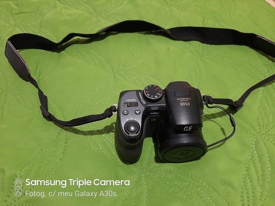 Câmera Fotográfica Sem Profissional Poucas Vezes Usada