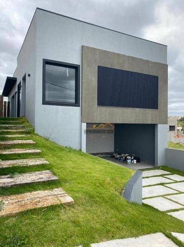 Casa Com 3 Dormitórios À Venda, 168 M² Por R$ 835.000,00 - Condomínio Gardenville - Itu/sp - Ca1770