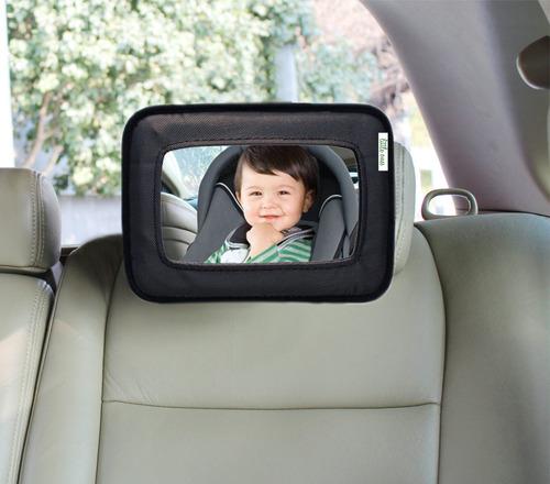 Espejo De Auto/porta iPad Negro Bebés Y Niños
