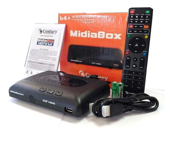 Receptor Midiabox B4 Century Hd Digital Conversor Midia Box4
