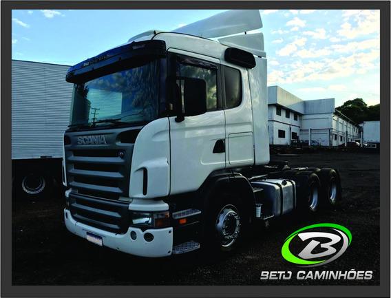 Scania 124 420 6x2 Ano 2009