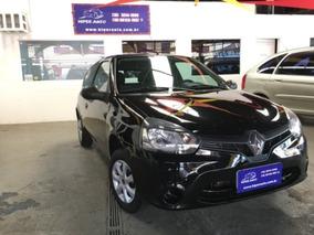 Renault Clio Authentique 1.0 Preto 2014