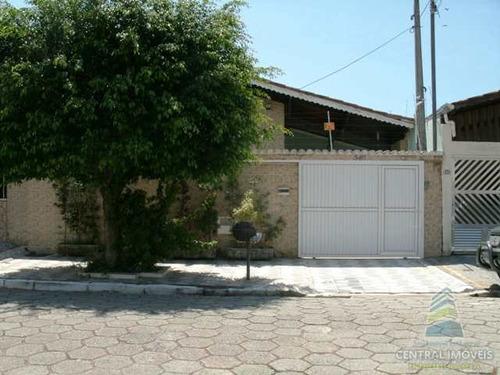 Casa Com 3 Dorms, Canto Do Forte, Praia Grande - R$ 850 Mil, Cod: 6634 - V6634