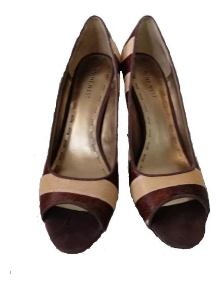 Zapatos Nuevos Nine West Modernos Eran Los De Mostrador
