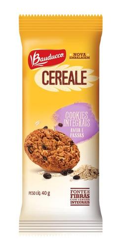 Cookies Cereale Aveia E Uva Passa Bauducco 40g