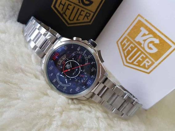 Relogio Th - Mercedes Sls - Aço - Cronografo - Datador