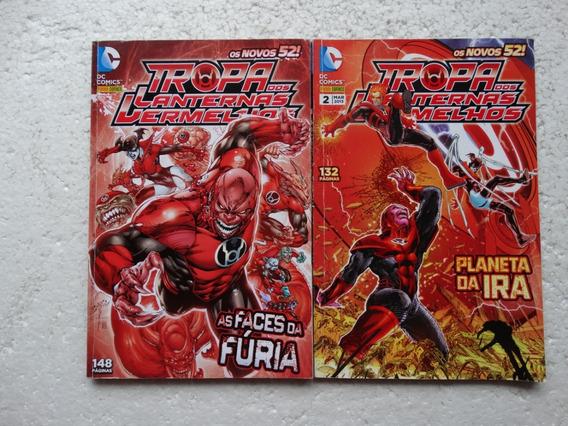 Tropa Dos Lanternas Vermelhos Nºs 1 E 2! Os Novos 52! 2012