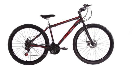 Bicicleta Aro 29 Woltz Aço Carbono 21 Marchas Freio A Disco