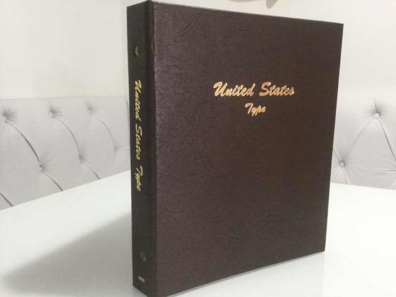 Álbum De Moedas Dansco, Por Tipo, United States - Usa