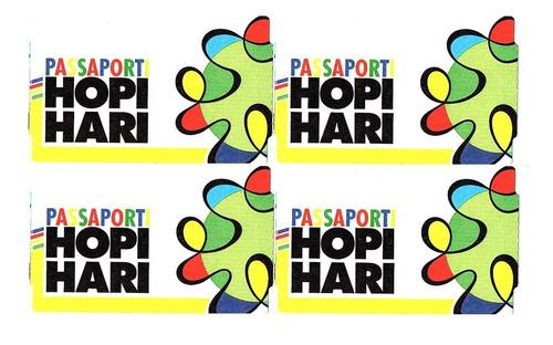 Kit 3 Passaporte Hopi Hari