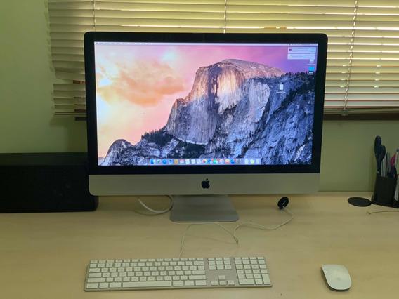 iMac 27 Core I7 8gb Ddr3 480gb Ssd + 1 Tb