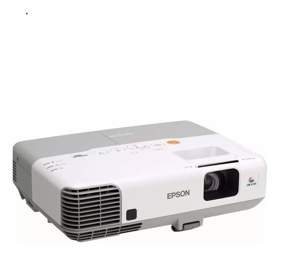 Projetor Epson Powerlite 93+ 2600 Lumens Hdmi Sem Controle