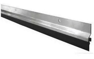 Zocalo 100 Cm Fijo Puerta Aluminio / Goma Burlet Ramos Mejia