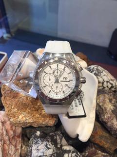 Reloj Technomarine Acero Y Caucho Siliconado Sumergible