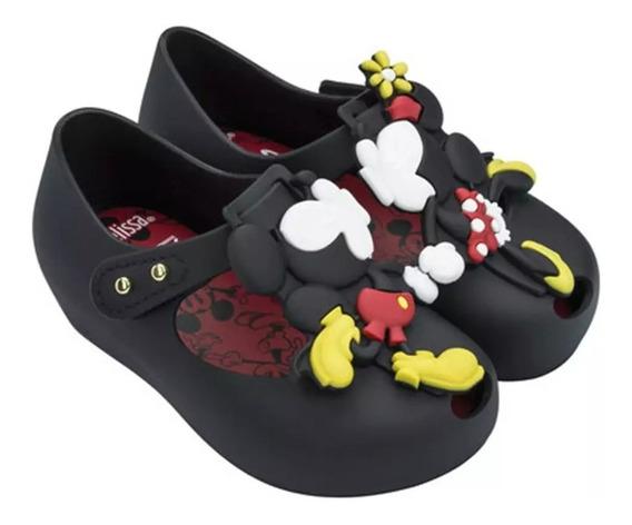 Zapatos Flats Niña Mini Melissa Mickey Minnie 13 A 18 Cm