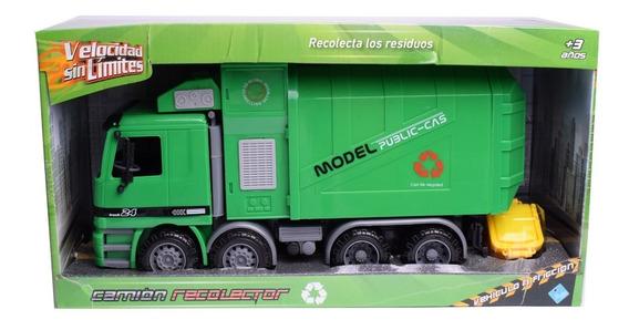 Camión Recolector De Basura A Fricción Velocidad Sin Limite