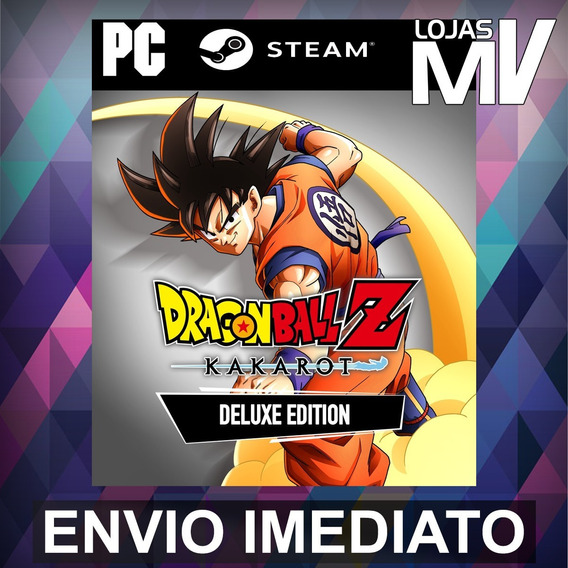 Dragon Ball Z Kakarot Ed Deluxe Pc Steam Gift Presente