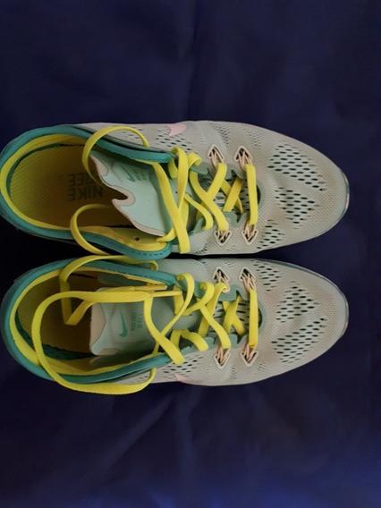 Zapatillas Nike Free 5.0 Tr Fit 5 Brthe. Número 6,5 De Mujer