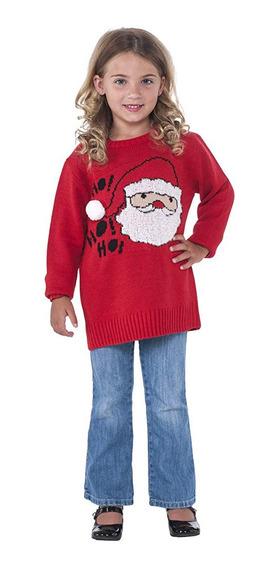 Suéter Navidad Niña Christmas Ugly Sweater 3/4 5 Años