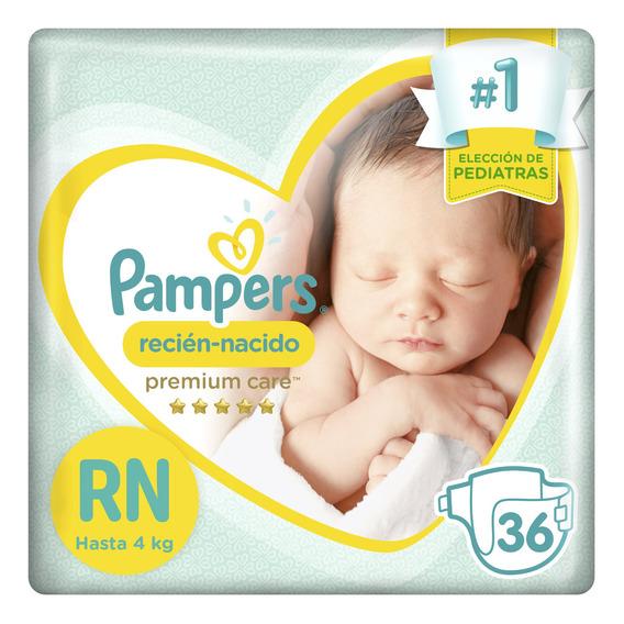 Pañales Pampers Recién Nacido Premium Care 36 Unidades
